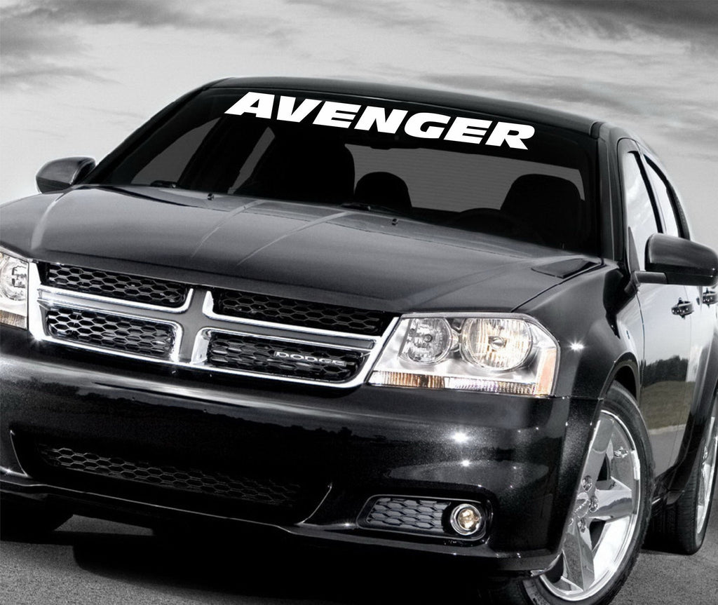 Dodge Avenger windshield decal - Arise Decals