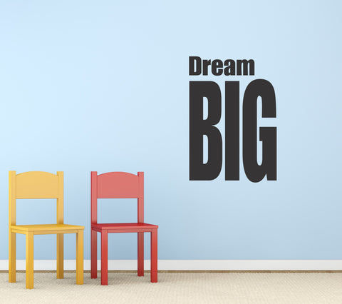 Dream Big wall decal - Arise Decals