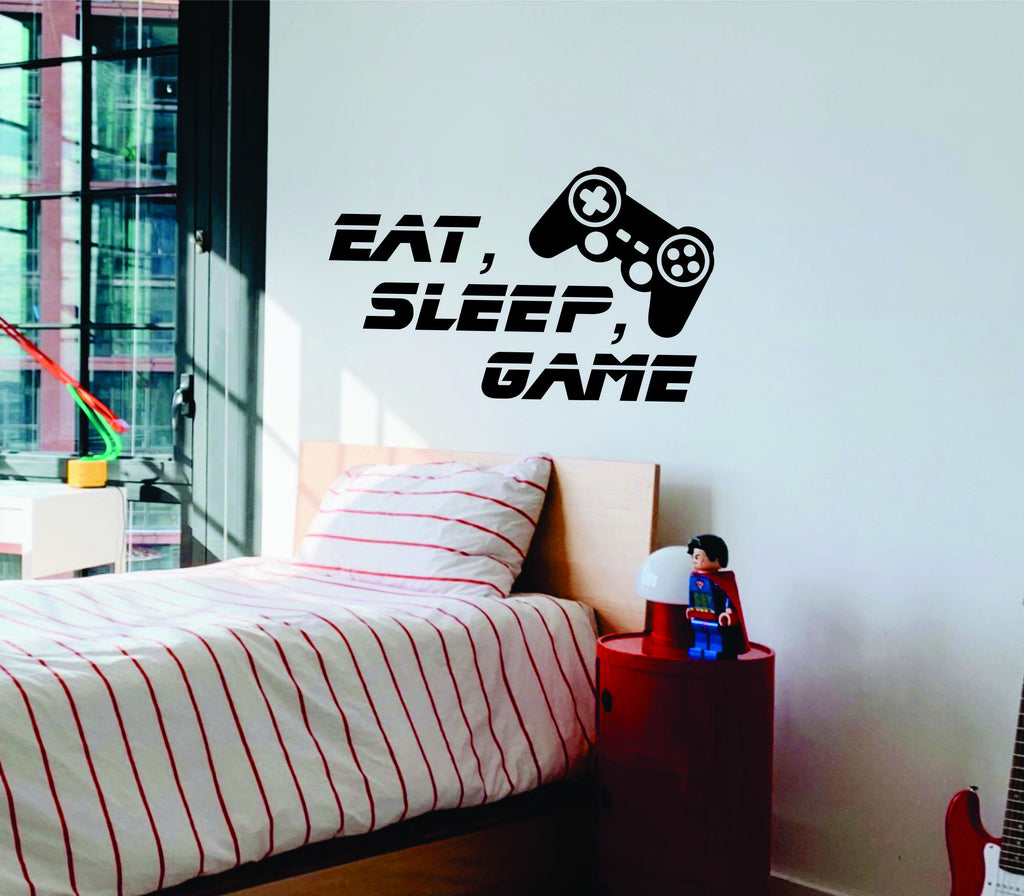Eat, Sleep, Game Wall Decal - Arise Decals