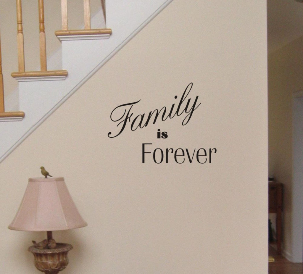 Family is Forever wall decal - Arise Decals