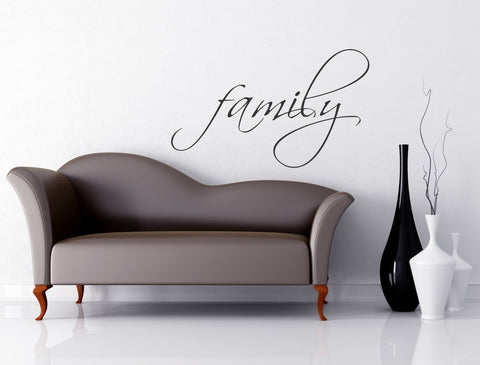 Family wall decal - Arise Decals