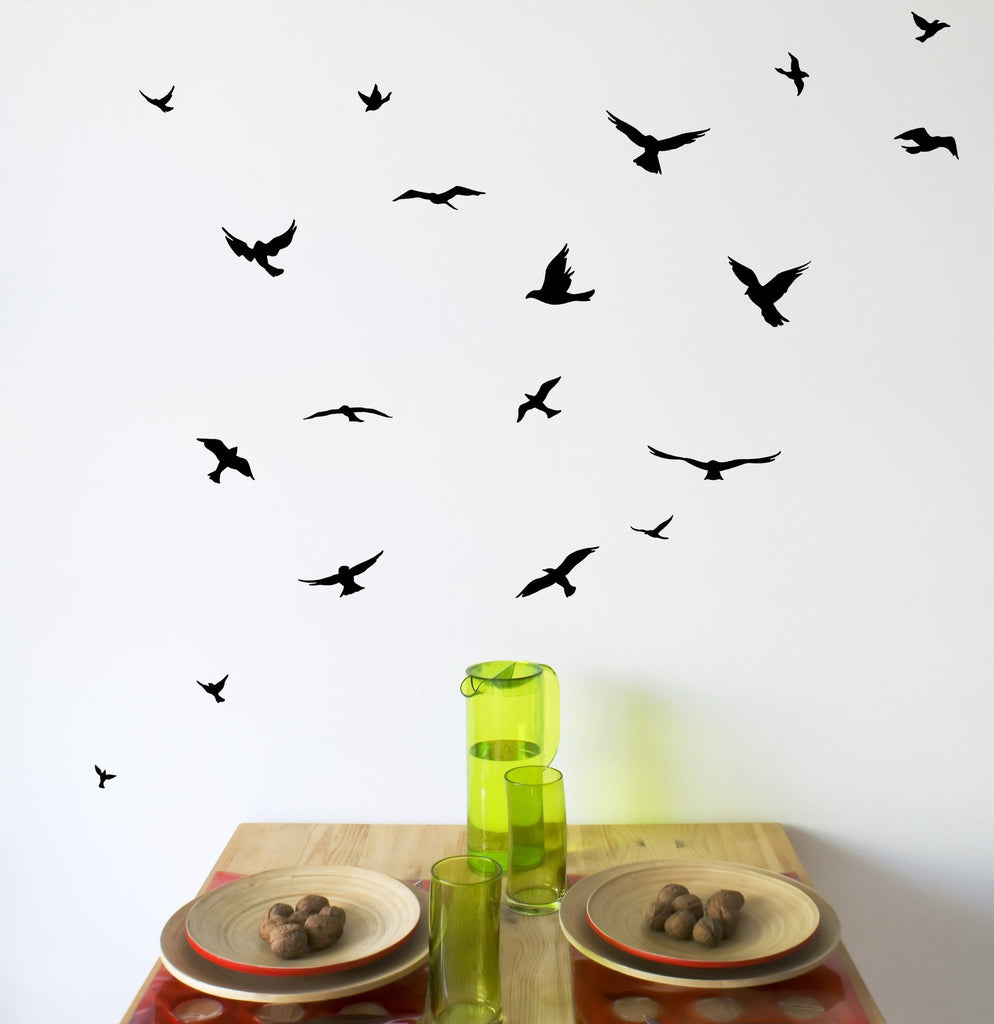 Flock of Birds Wall Decals - Arise Decals