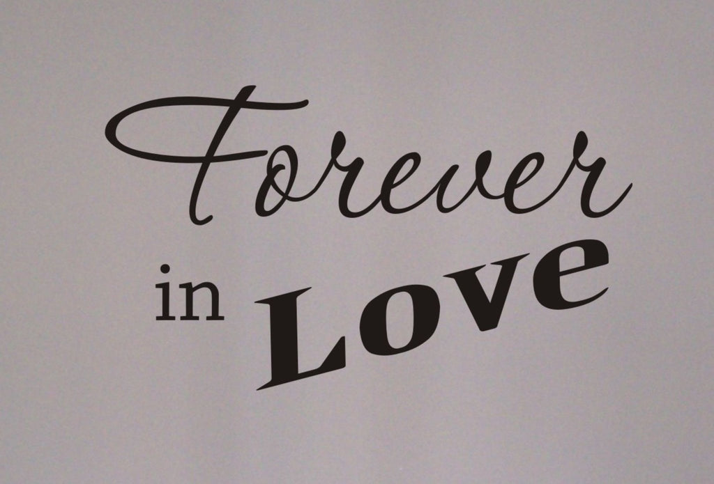 Forever in Love wall decal - Arise Decals
