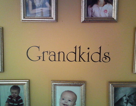 Grandkids wall decal - Arise Decals