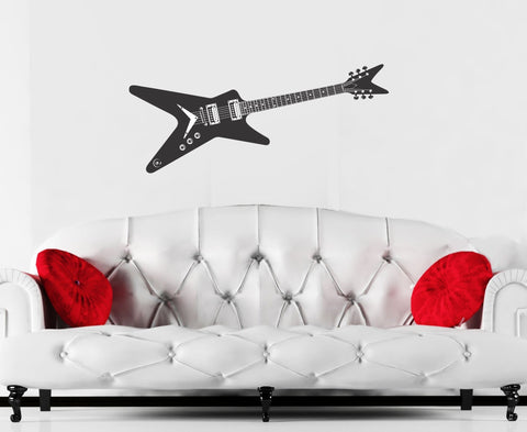 Guitar wall decal Dimebag Darrell inspired - Arise Decals