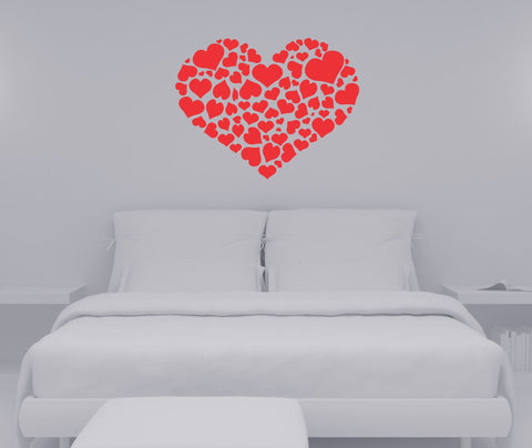 Heart of Hearts wall decal - Arise Decals