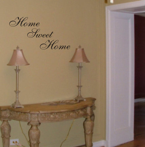Home Sweet Home wall decal - Arise Decals