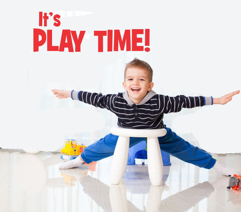 It's Play Time wall decal - Arise Decals