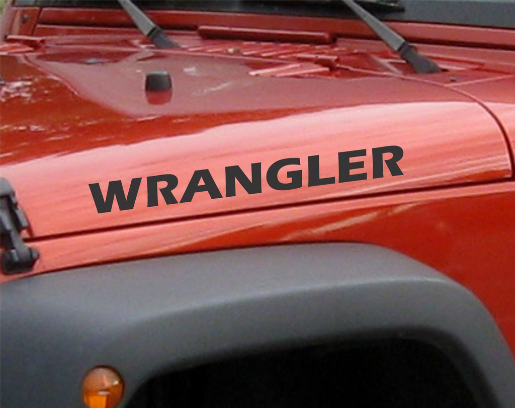 Jeep Wrangler Decals - Arise Decals