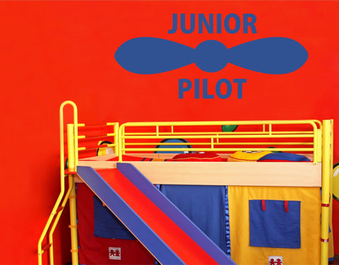 Junior Pilot wall decal (Large) - Arise Decals