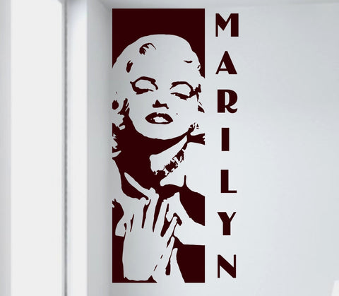 Marilyn Monroe wall decal - Arise Decals
