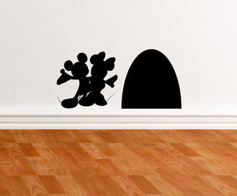 Mice and Mouse Hole wall decal - Arise Decals