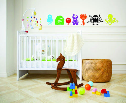 Monsters Wall Decal Set - Arise Decals