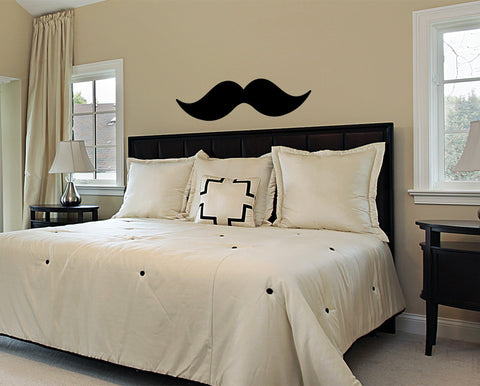 Mustache wall decal - Arise Decals
