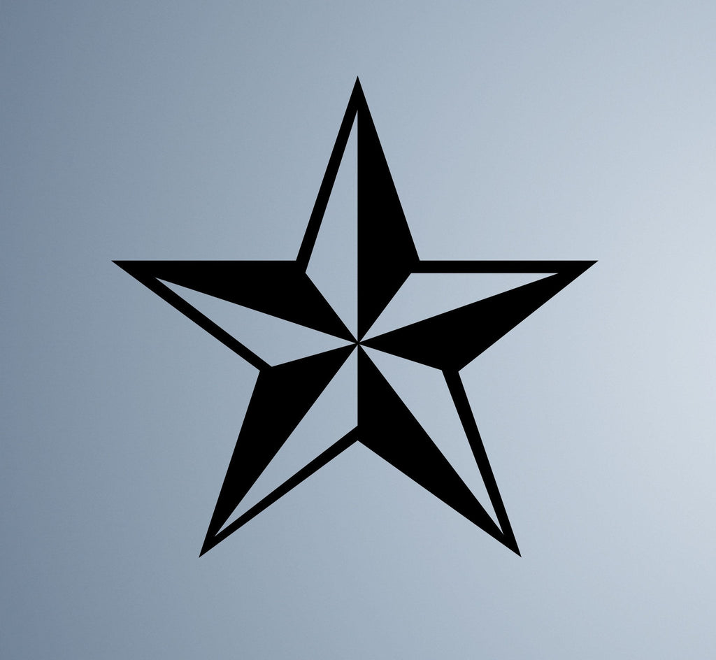 Nautical Star Wall Decal - Arise Decals