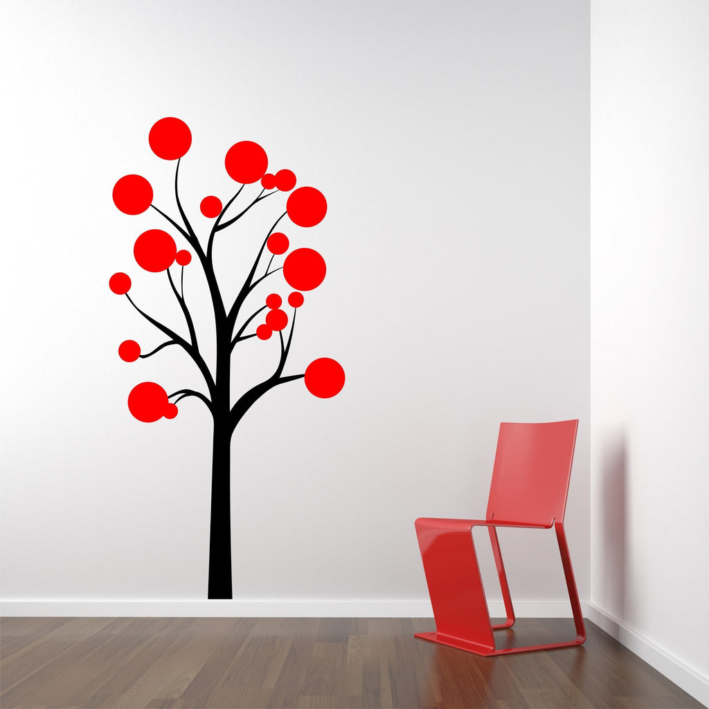 Polka Dot Tree wall decal - Arise Decals