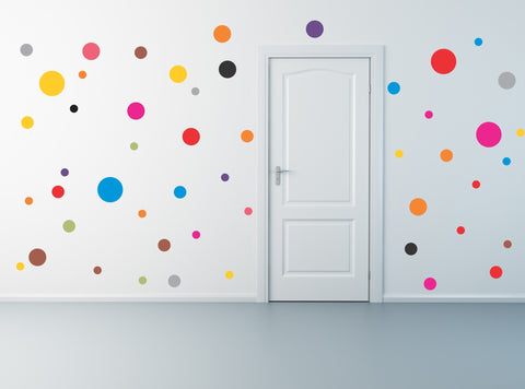 Polka Dot wall decal set - Arise Decals