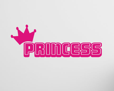 Princess wall decal - Arise Decals