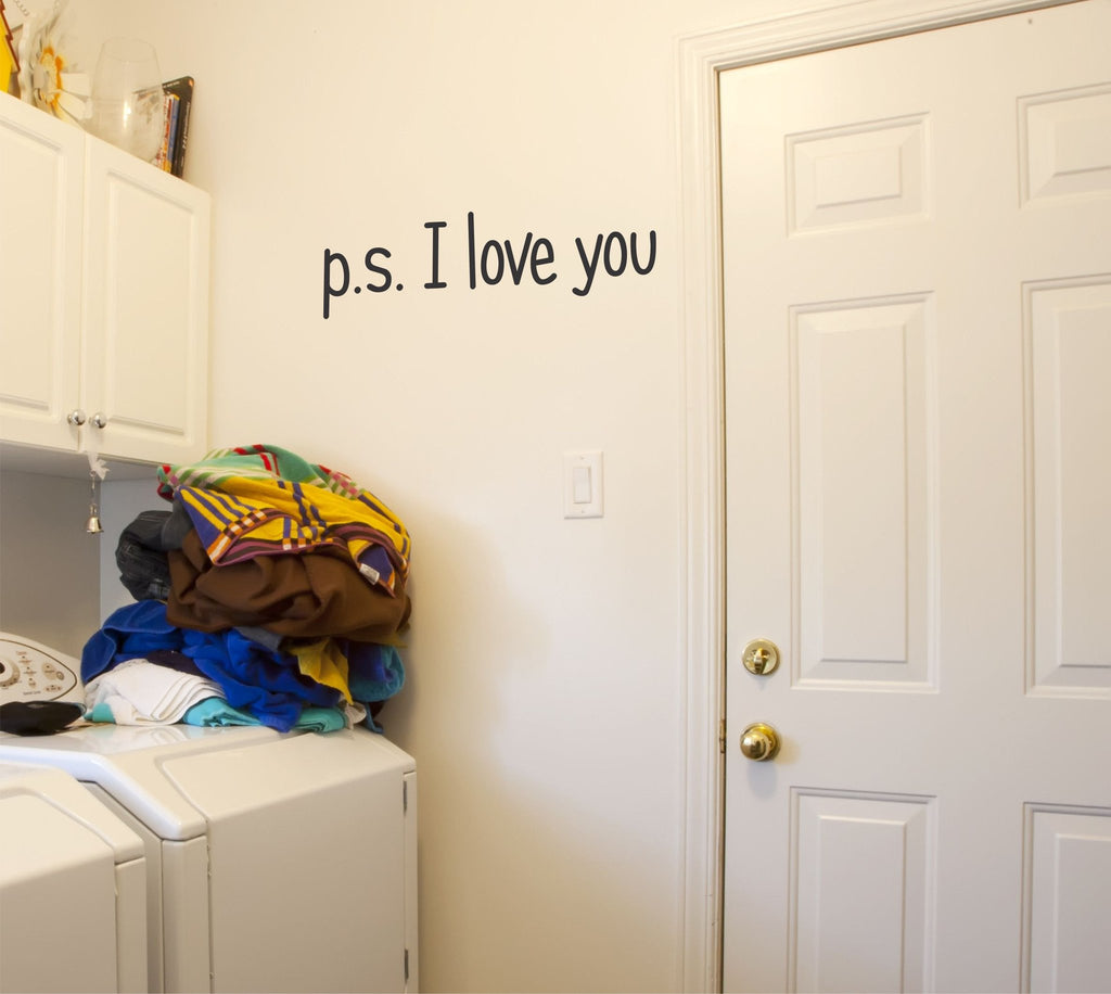 p.s. I love you Wall Decal - Arise Decals
