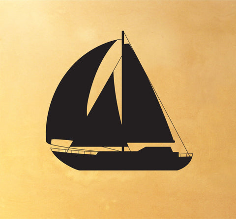 Sailboat Wall Decal - Arise Decals