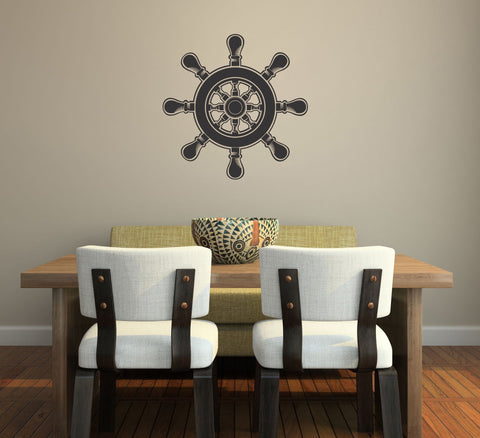 Ship's Wheel Wall Decal - Arise Decals