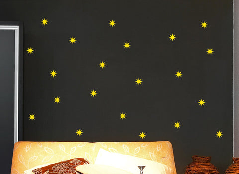 Star Wall Decal Set - Arise Decals