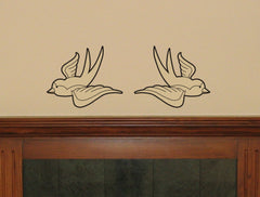 Swallows wall decal - Arise Decals