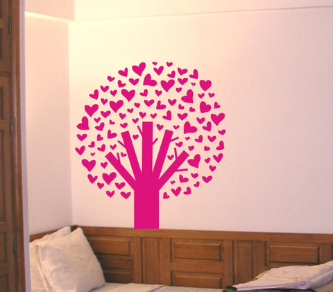 Tree of Hearts wall decal - Arise Decals