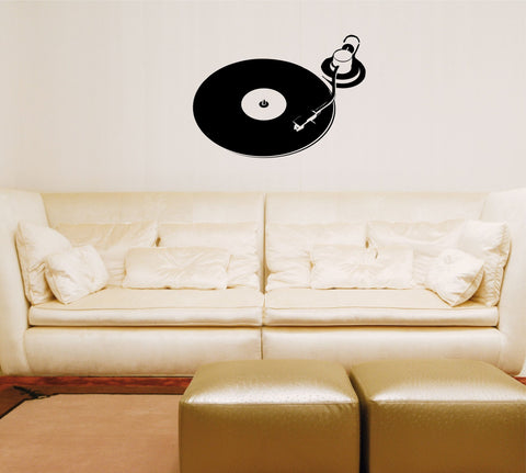 Turntable wall decal (large) - Arise Decals