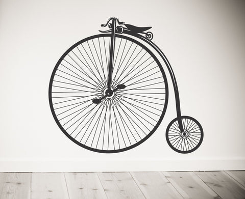 Vintage Bicycle Wall Decal - Arise Decals