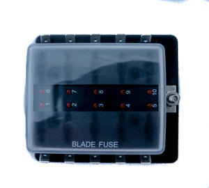 Midwest Truck Accessories 10 PC Fuse Box – Route 1 Industries LLC.Route 1 Industries LLC.