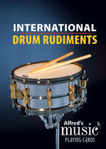 Alfred's Music Playing Cards: International Drum Rudiments - Black River Music Plus