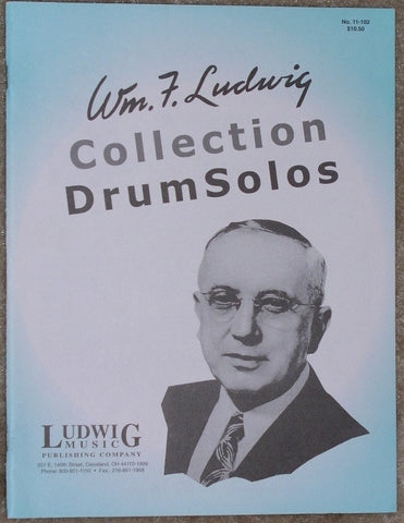 Collection of Drum Solos - William F. Ludwig - Black River Music Plus