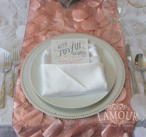 Petal Linens - Bella Angel Event Decor