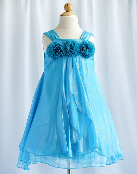 Chiffon Flower Girl Dress - Bella Angel Event Decor