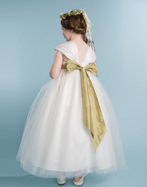 Full Flower Girl Dress