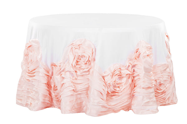 Rose Dipped Tablecloth - Bella Angel Event Decor