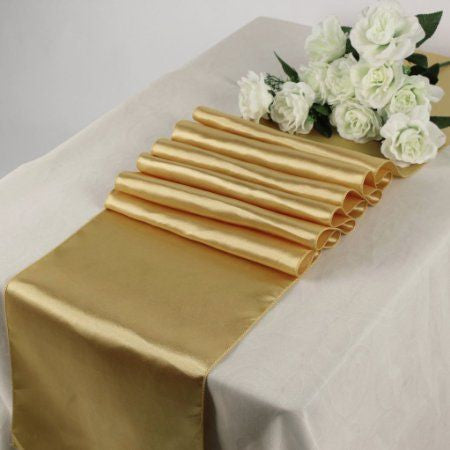 Satin Table Runners - Bella Angel Event Decor