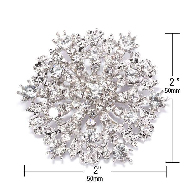Starburst Brooch - Bella Angel Event Decor