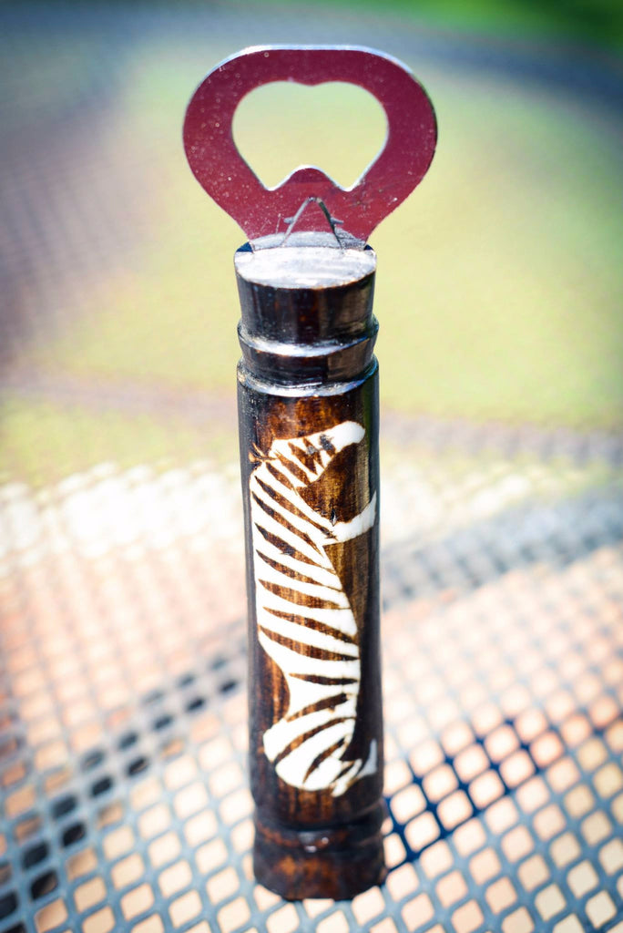 Bottle Opener | Zebra - Nyora Beads