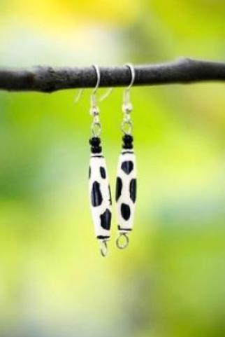 Salima Earrings - Nyora Beads