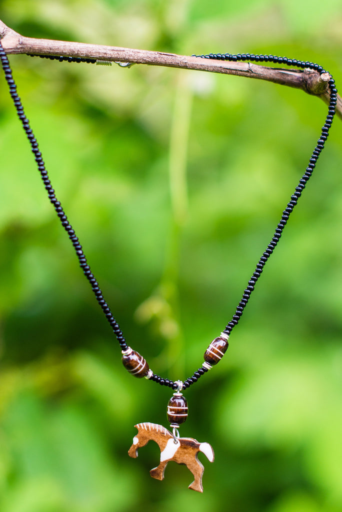 Farasi Necklace - Nyora Beads