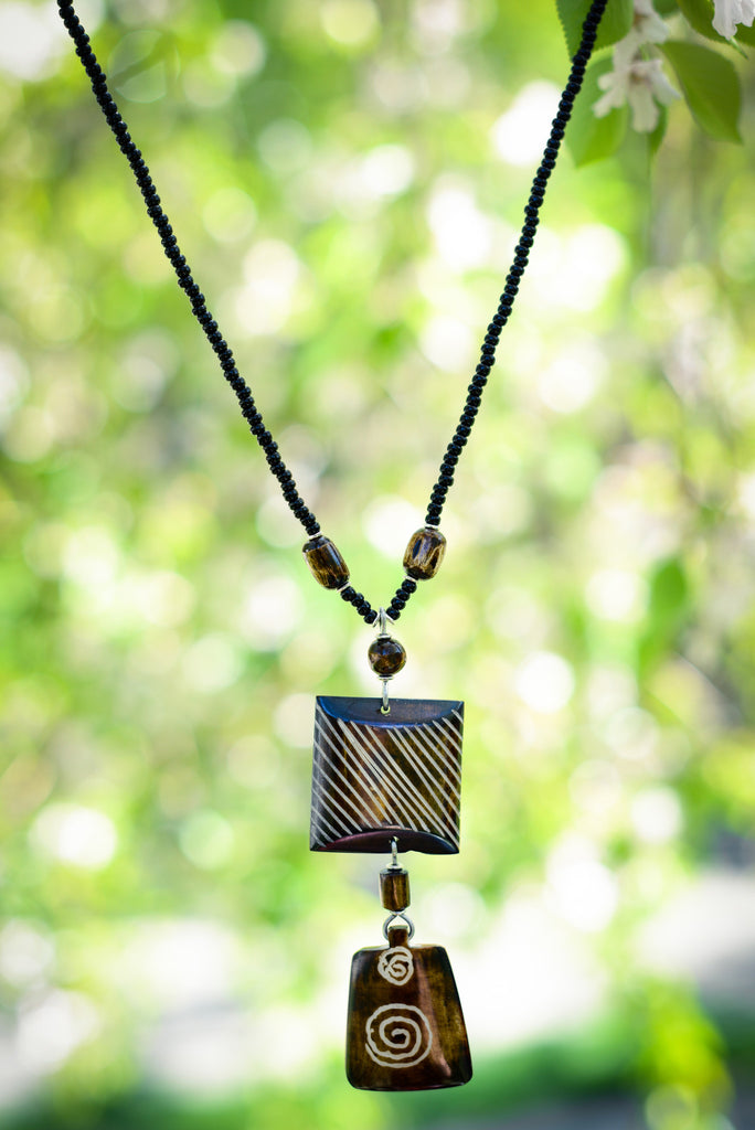 Janet Necklace - Nyora Beads