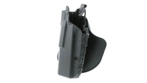 Safariland 7378 7TS ALS® Slim, Flexible Paddle & Belt Loop Concealment Holster, SafariSeven Black, Left Hand, Colt 1911 Officers' 45 ACP (3.5) or similar