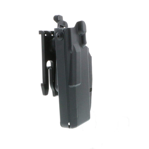 Safariland 7377 7TS ALS® Slim, Holster w/QLS 19 Fork Installed, Plain Black, Left Hand, Colt 1911 Government (5.0) or similar
