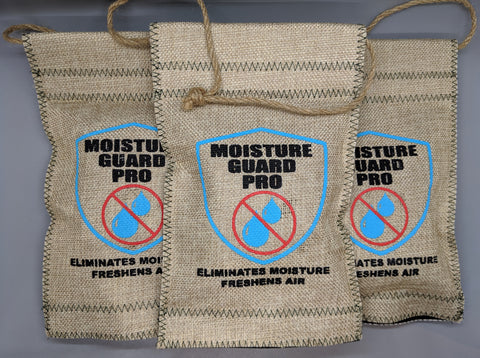 Moisture Guard Pro Dehumidifier Pouch 3 Pack