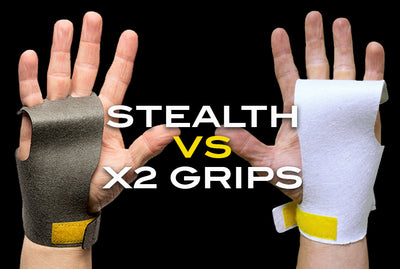Stealth vs X2 -  What Is The Difference Between These Two Popular Crossfit Grips?