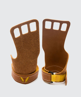 Women's Leather 3-Fingers (w/ Ring)