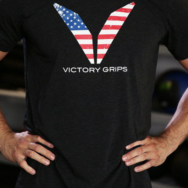 Men's USA Flag Logo T-shirt