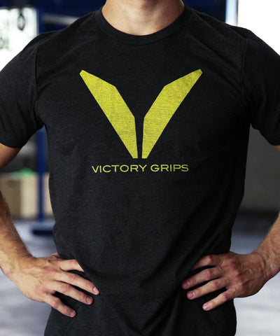 Men's Yellow VG Logo T-shirt